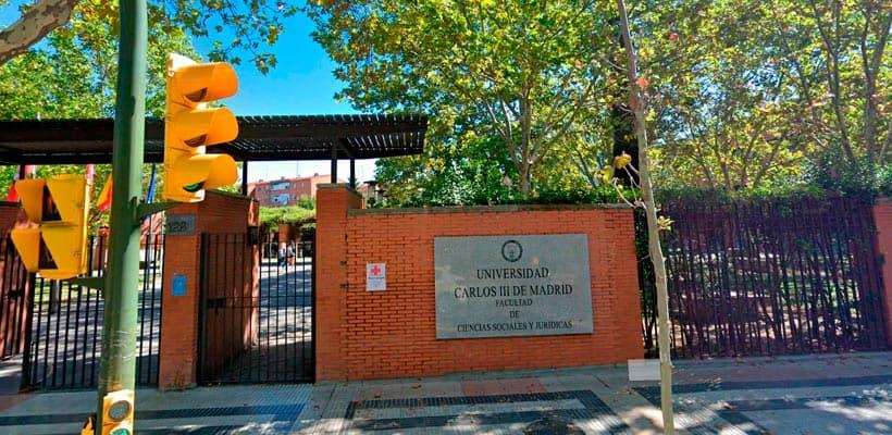 Oferta Empleo Público Universidad Carlos III - plazas funcionario administración
