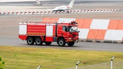 Oposiciones de bombero: prueba de conducción