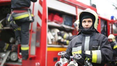 Marcas y tipos de pruebas físicas de bombero para mujeres